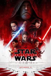 """Poster de la película """"Star Wars: Los últimos Jedi"""""""