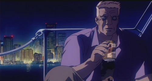 San Miguel Ghost in the shell