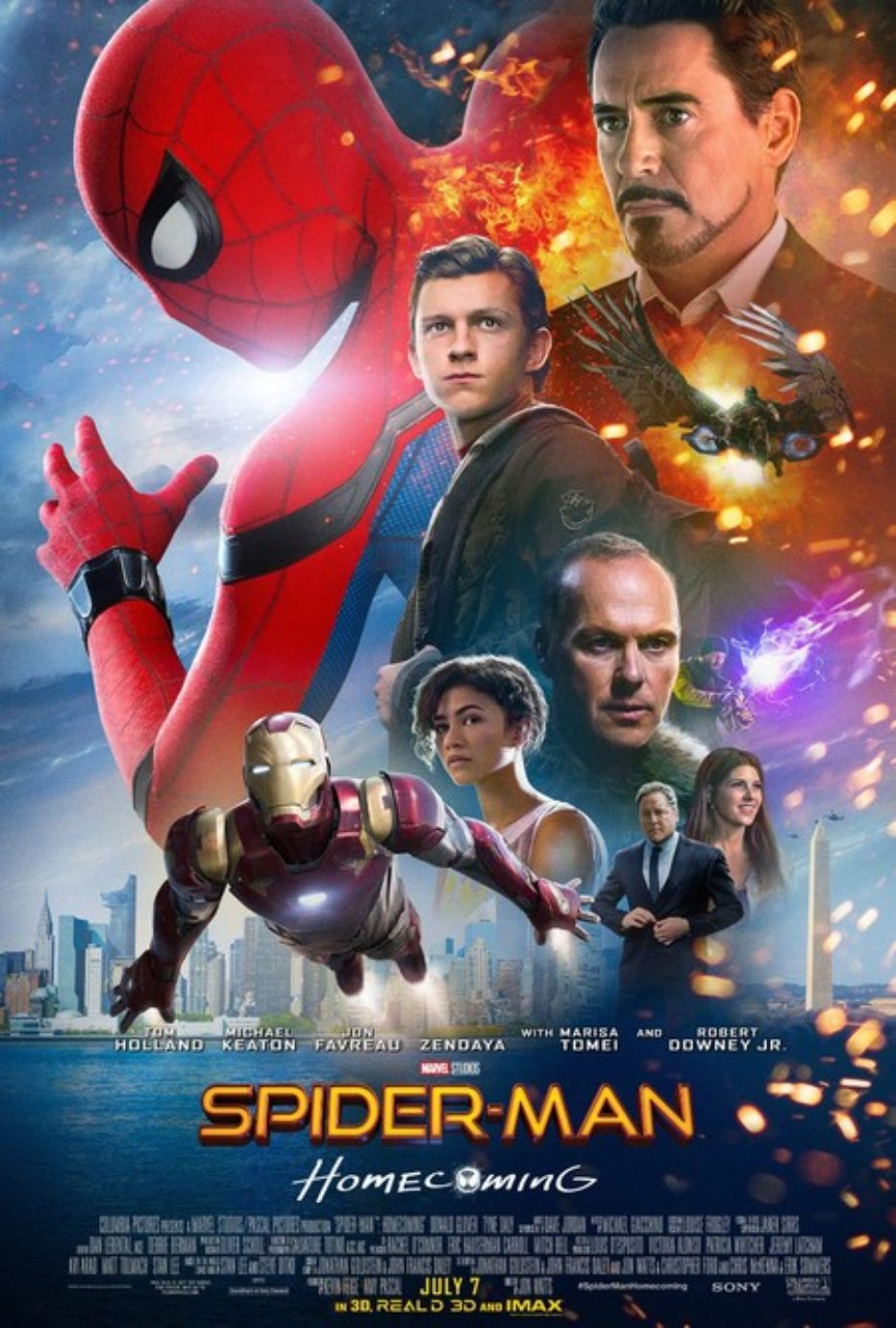 Nuevo trailer de Spiderman: Homecoming en español