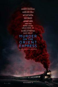 """Poster de la película """"Asesinato en el Orient Express"""""""