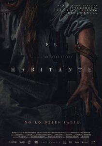 """Poster de la película """"El habitante"""""""