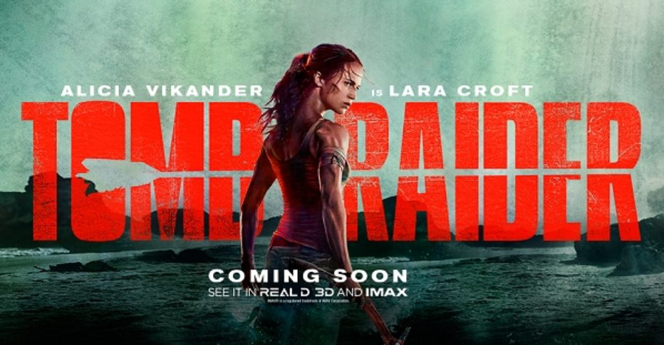 Primer trailer de Tomb Raider con Alicia Vikander
