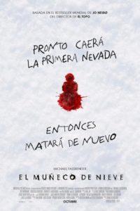 """Poster de la película """"El muñeco de nieve"""""""