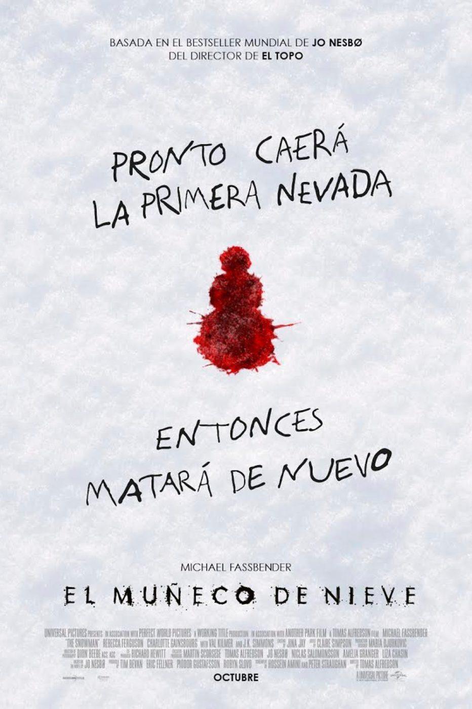 Primer trailer de El muñeco de nieve
