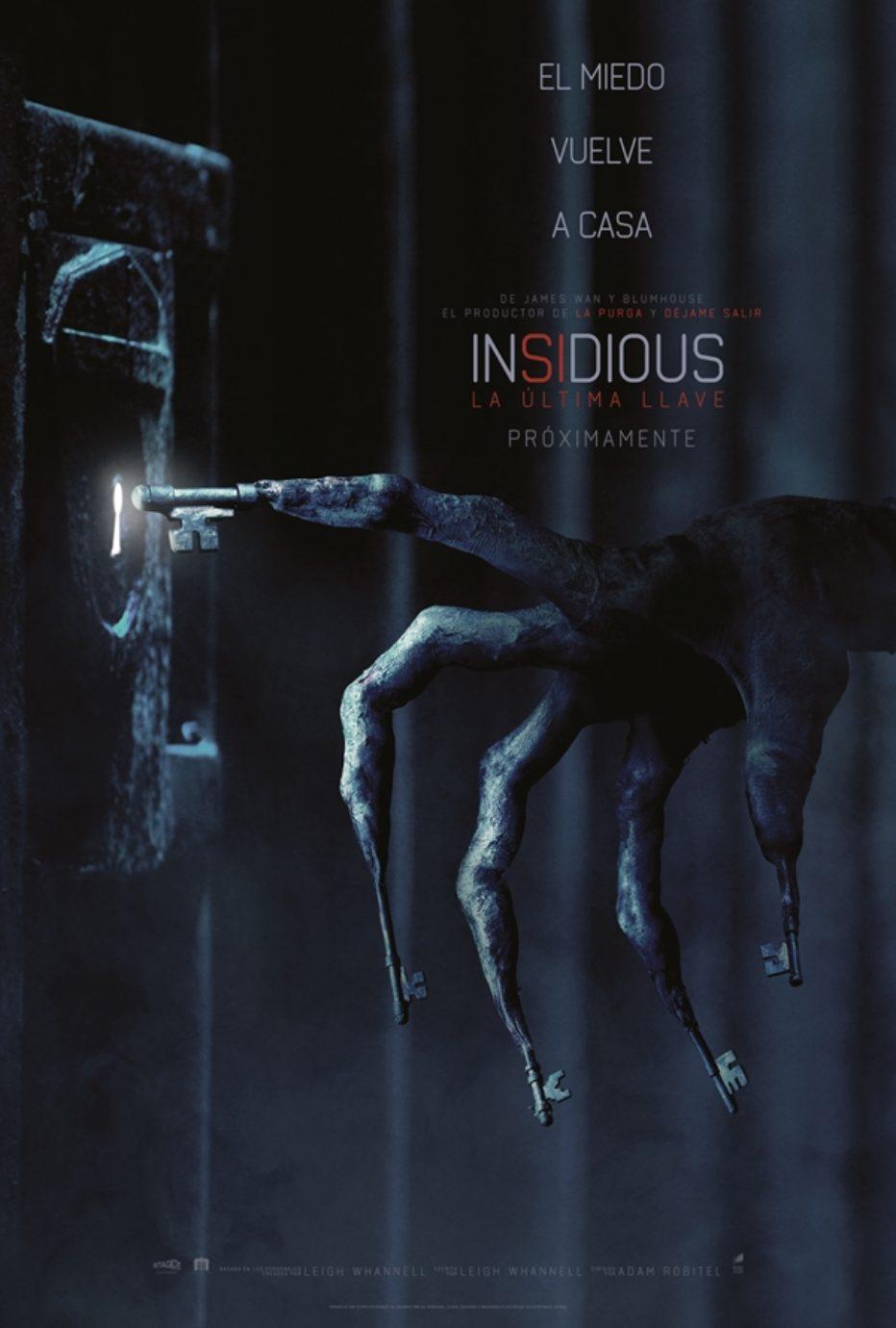Primer trailer de Insidious: La última llave