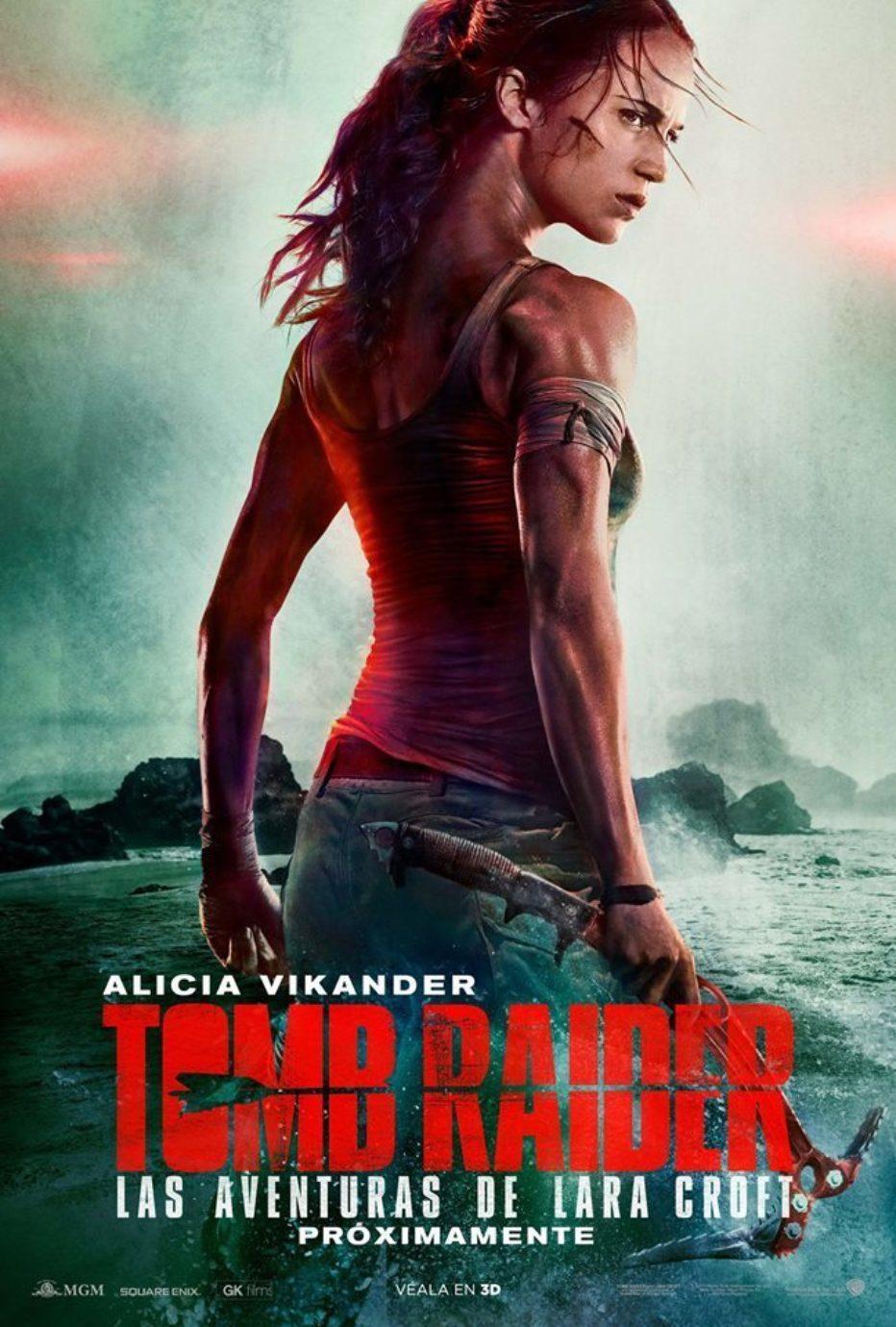 Segundo trailer de Tomb Raider con Alicia Vikander