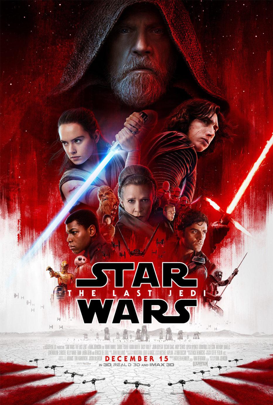 ¡¡Segundo y brutal trailer de Star Wars: Los últimos Jedi!!