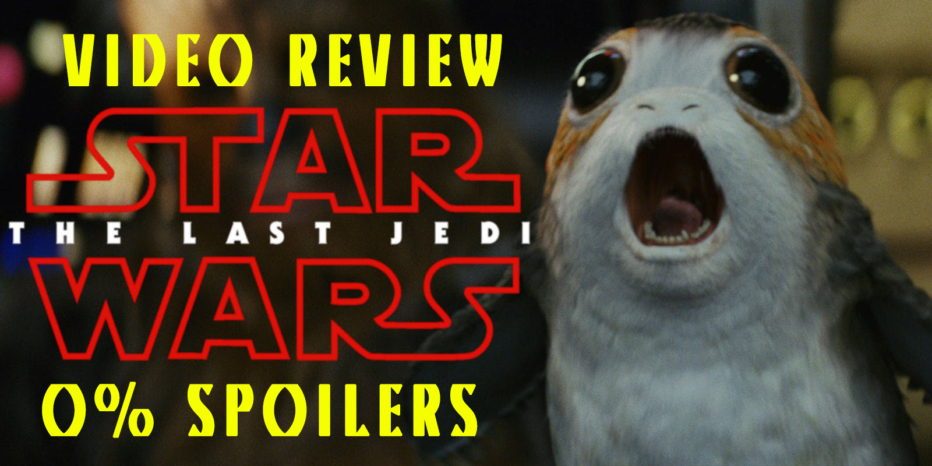 Star Wars: Los últimos Jedi. Video Review 0% Spoilers