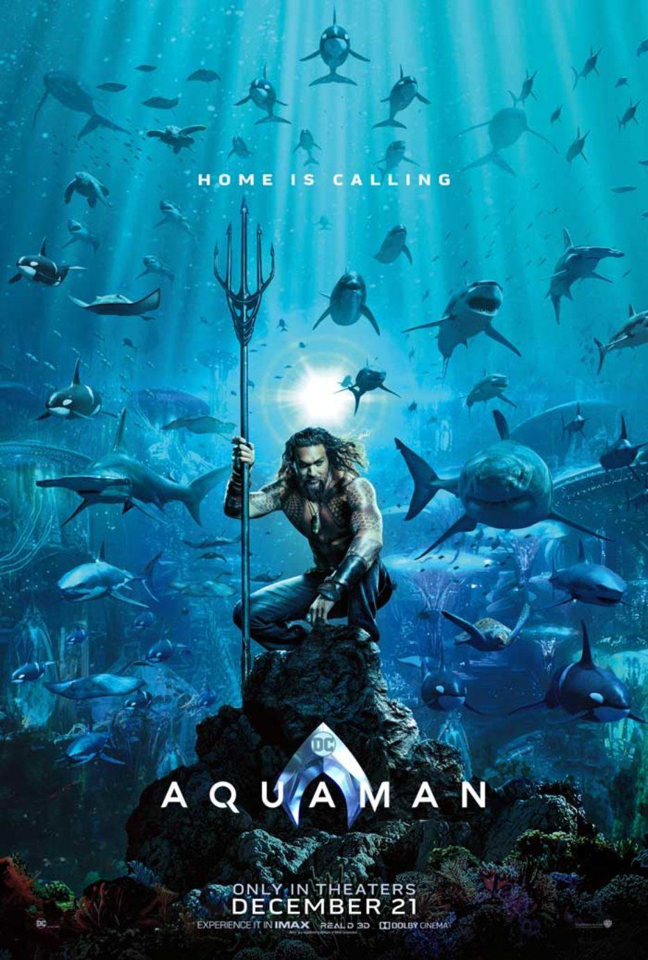 Primer poster de Aquaman de James Wan