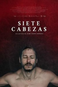 """Poster de la película """"Siete Cabezas"""""""