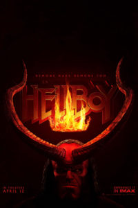 "Poster de la película ""Hellboy: Rise of the Blood Queen"""