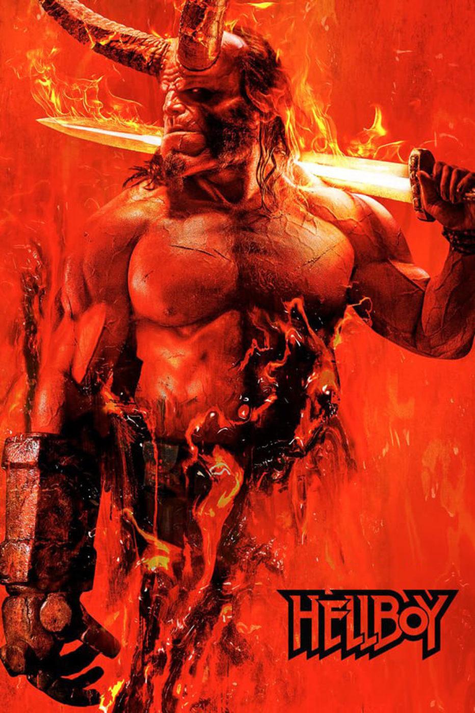 ¡Jodo, con el primer poster de Hellboy!