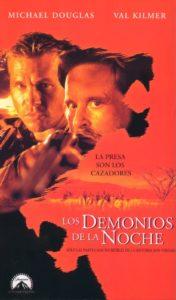 """Poster de la película """"Los demonios de la noche"""""""