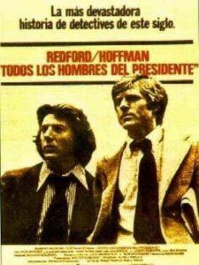 """Poster de la película """"Todos los hombres del presidente"""""""