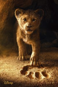 """Poster de la película """"El Rey León"""""""