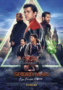 """Poster de la película """"Spider-Man: Lejos de Casa"""""""