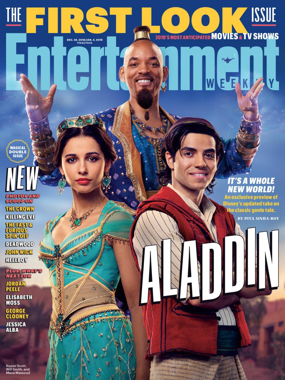 Aladdin: Primeras imágenes de la película de acción real de Guy Ritchie | EW