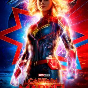 """""""Captain Marvel"""" Nuevo poster y 2o trailer para mañana"""