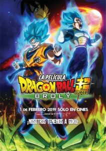 "Poster de la película ""Dragon Ball Super: Broly"""