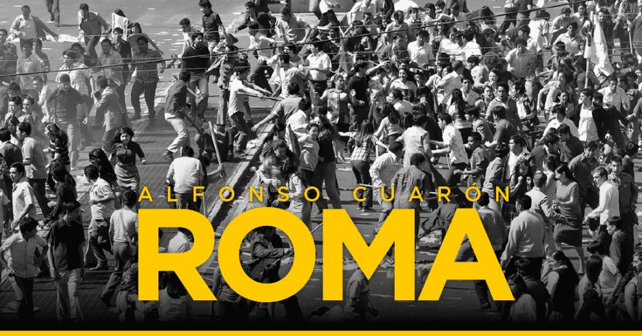 ROMA: Cine para habitantes del país de las nubes.