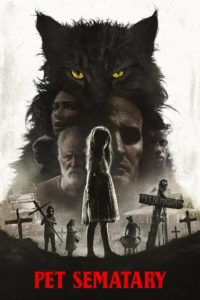 """Poster de la película """"Cementerio de animales"""""""