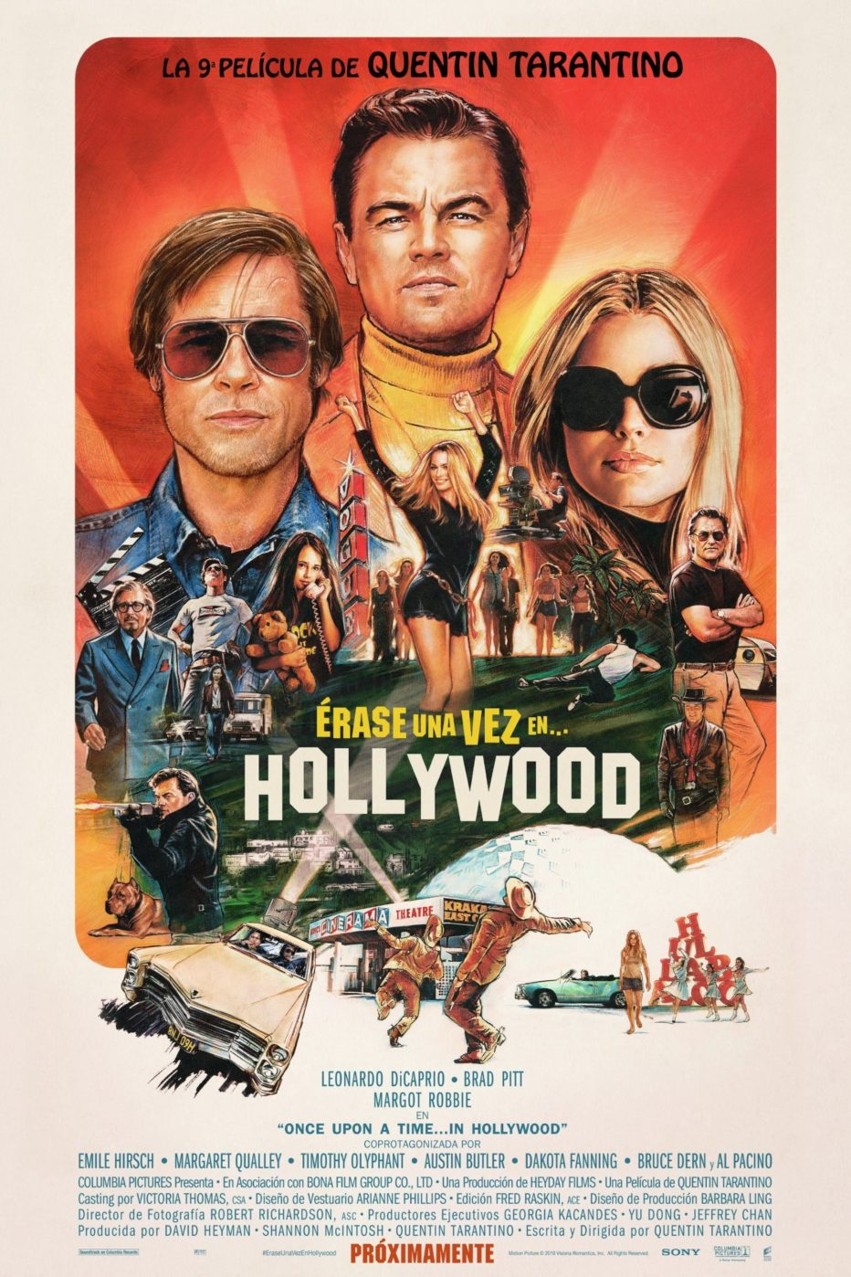 Once Upon a Time in Hollywood: el amor de Quentin a una época