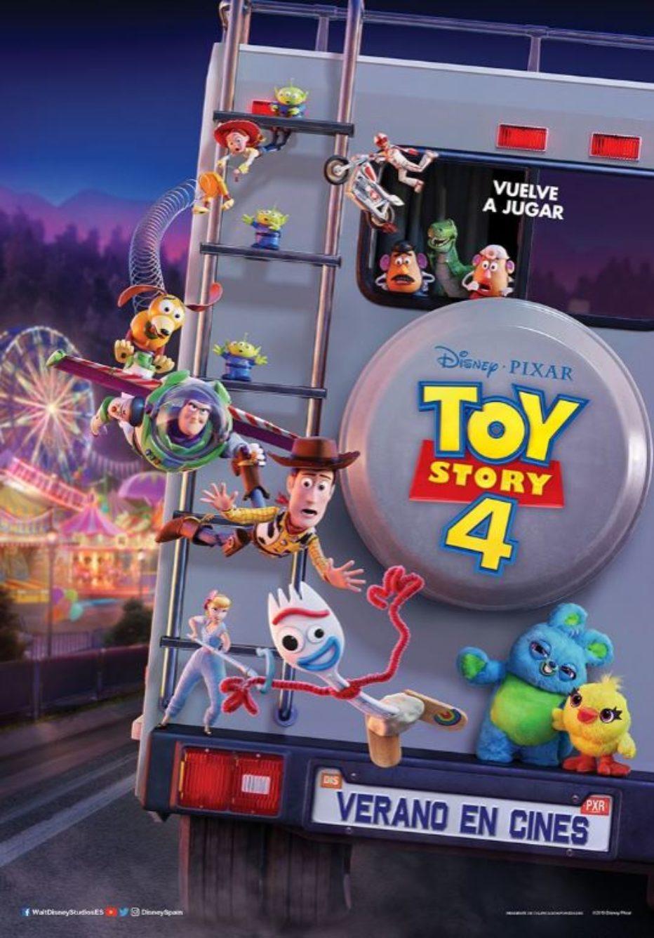 Toy Story 4 de Disney•Pixar | Nuevo Tráiler Oficial en español