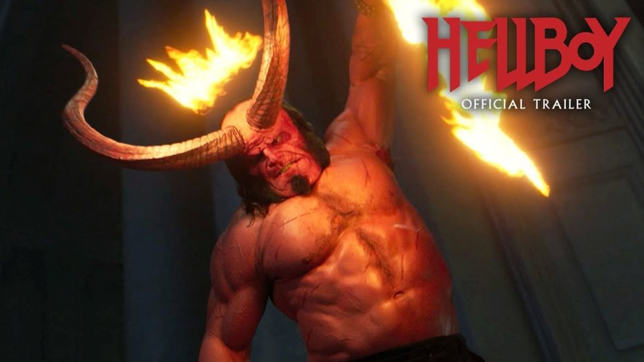 "Hellboy (2019) Nuevo Trailer ""Red Band"" – David Harbour, Milla Jovovich, Ian McShane"