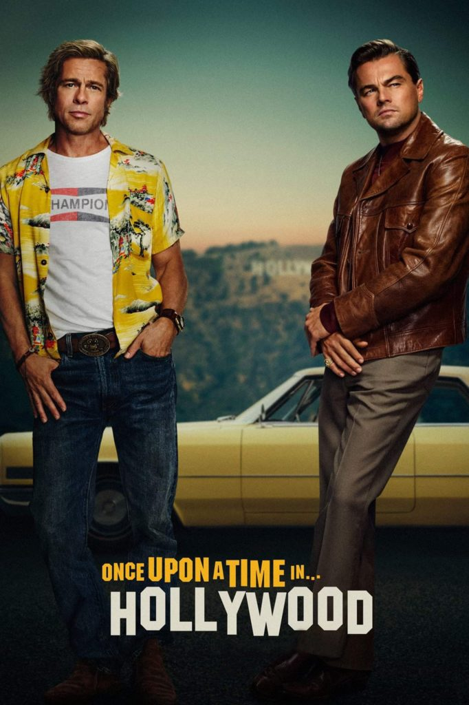 "Poster de la película ""Once Upon a Time in Hollywood"""