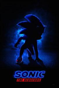 """Poster de la película """"Sonic El Erizo"""""""