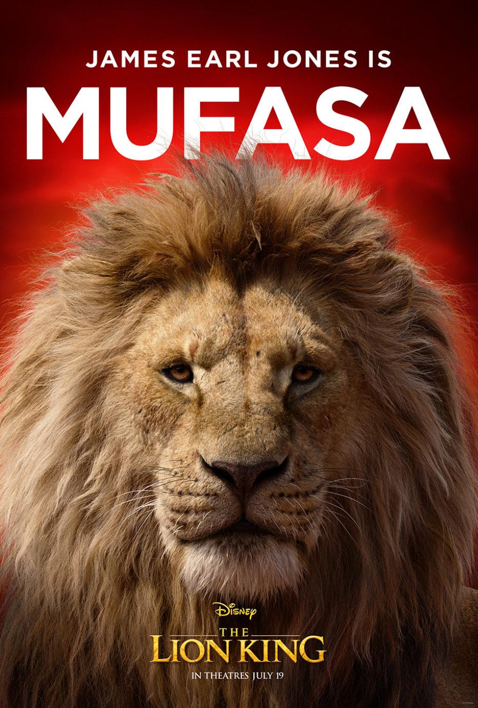 Once posters para El rey león