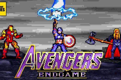 Recrean la batalla final de Avengers Endgame en 16 Bits… y es una maravilla