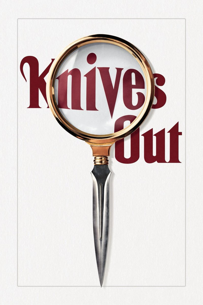 "Poster de la película ""Knives Out"""