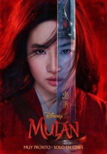 """Poster de la película """"Mulán"""""""