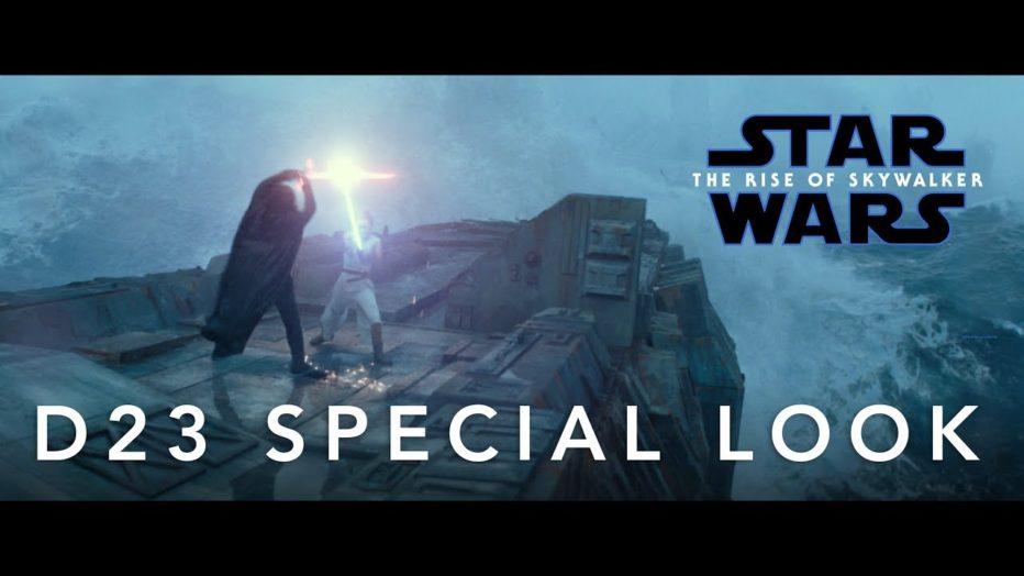 Star Wars: The Rise Of Skywalker | El video emitido en el D23
