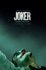"Poster de la película ""Joker"""
