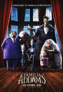 """Poster de la película """"La familia Addams"""""""