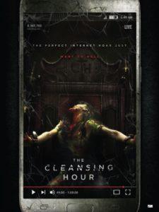 """Poster de la película """"The Cleansing Hour"""""""