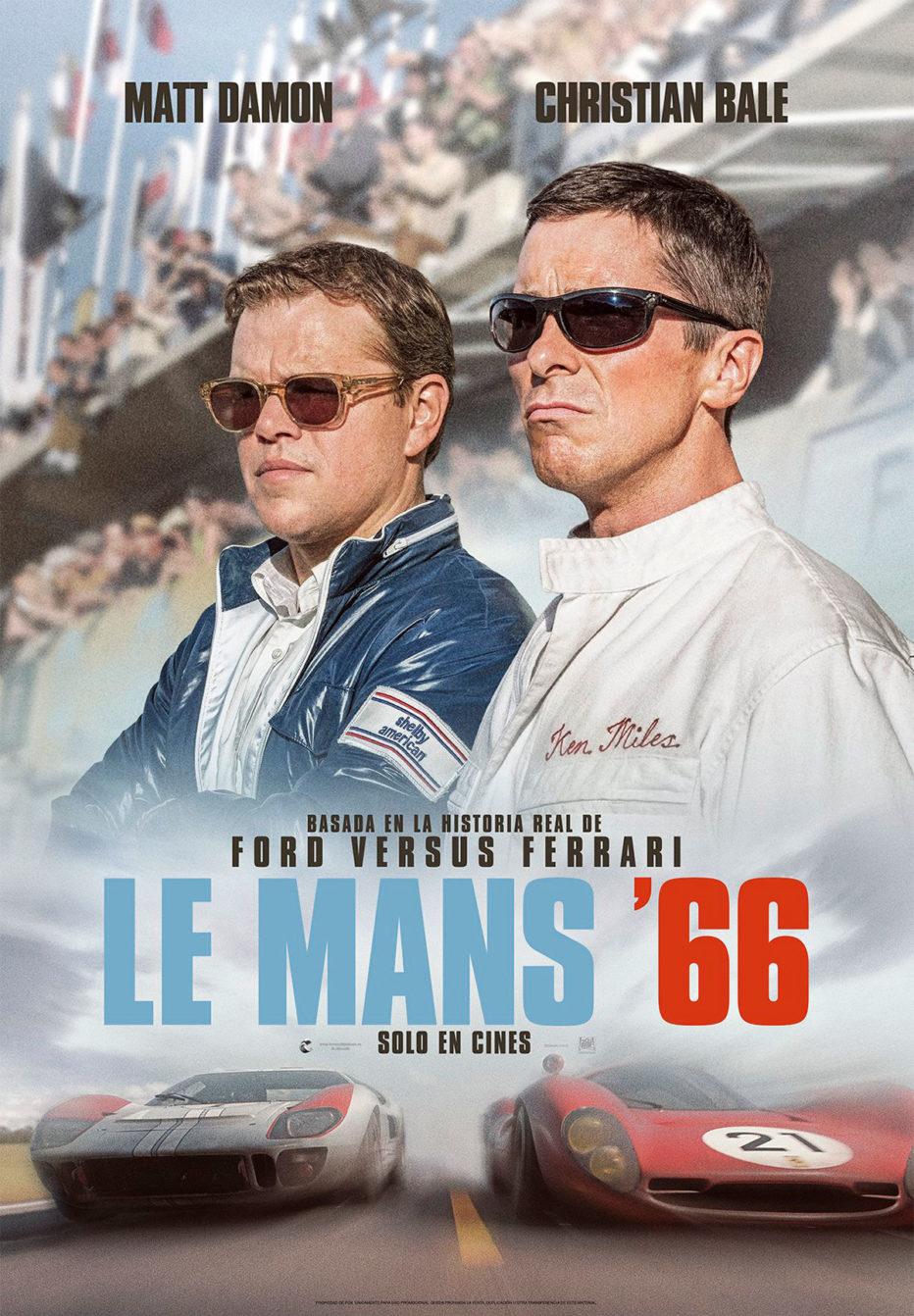 Le Mans '66: lealtad a 7.000 revoluciones