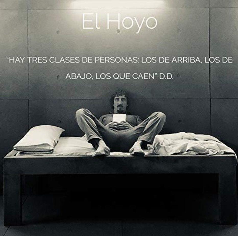 Entrevista a Iván massagué, protagonista de El Hoyo