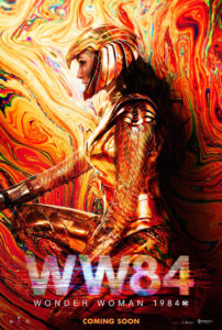"Poster de la película ""Wonder Woman 1984"""