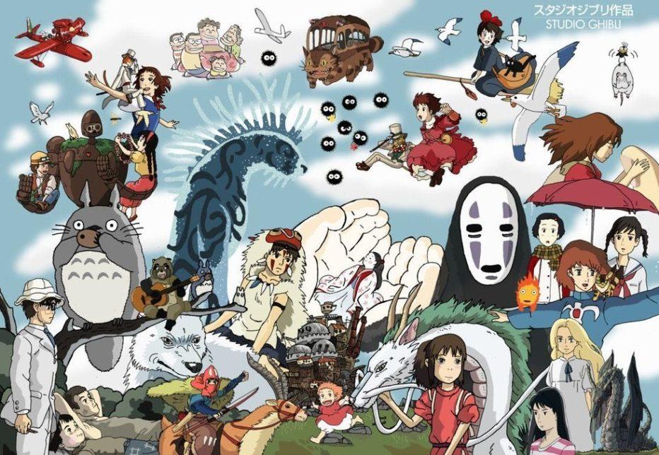 El Studio Ghibli llega a Netflix