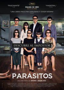"""Poster de la película """"Parásitos"""""""