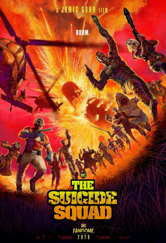 "Poster de la película ""The Suicide Squad"""