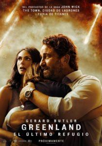 """Poster de la película """"Greenland: el último refugio"""""""