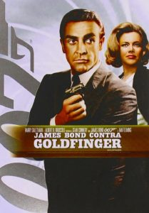"Poster de la película ""James Bond contra Goldfinger"""