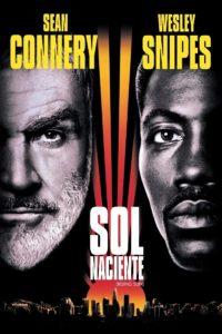 """Poster de la película """"Sol naciente"""""""