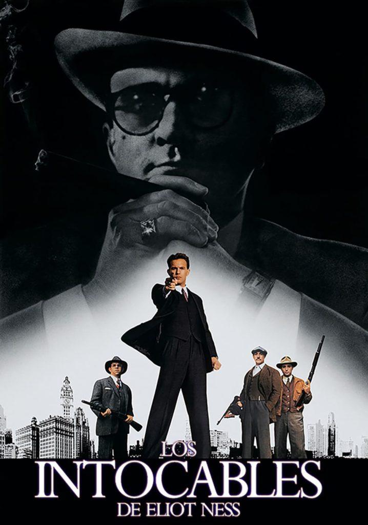 "Poster de la película ""Los intocables de Eliot Ness"""