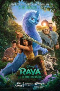 """Poster de la película """"Raya y el último dragón"""""""